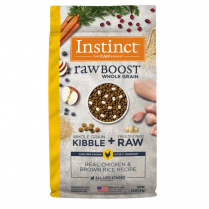 61843 INSTINCT Dog Raw Boost WG Chicken & Brown Rice 2kg