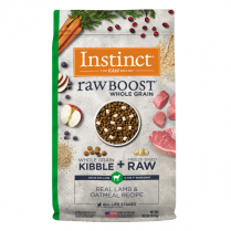 61844 INSTINCT Dog Raw Boost WG Lamb & Oatmeal 9.1kg