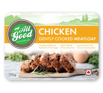 65350 ALL GOOD DOG FOOD Gently Cooked Chicken Meatloaf 750g