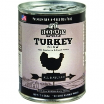 70828 REDBARN Dog Turkey Stew 12 / 369G