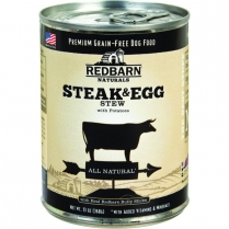 70829 REDBARN Dog Steak & Egg Stew 12 / 369G  (MOS)
