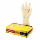 BAS-BAS-SUN-P-1328 Latex Glove Large Premium Powder Free White 100 PACK BAST