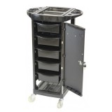 JOK-JOK-TLY-P-7092 Gemini 5 Tier Lockable Trolley