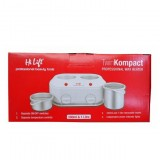 MNU-HLF-WAX-P-5749 Twin Kompact Prof. Wax Pot 2X 1Tr HI LIFT