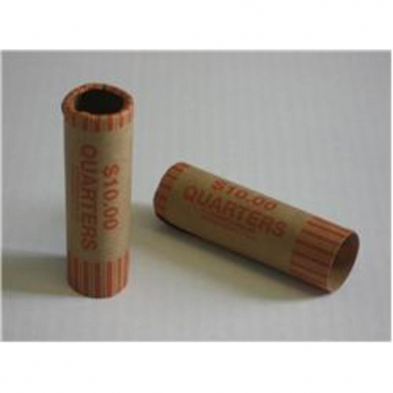 CCQUARTER COIN CARTRIDGE TUBE, QUARTER