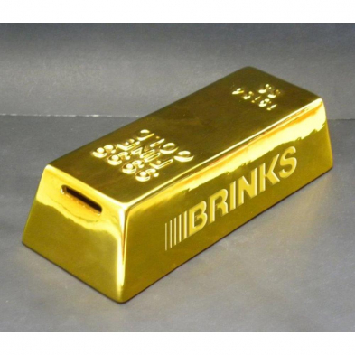 GOLDBAR BRINKS GOLD BAR BANK