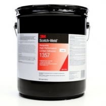 1357-5-N 3M™ Scotch-Weld™ Contact Adhesive 1357,Lt Yellow,5 gal pail