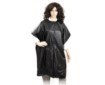 H-HE-CAP-UNB-002 Cutting Cape - Black Polyester/Nylon with Velcro Fastening