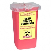 H-HE-HGH-FAN-001 Fantasea Used Sharps Container - 1L