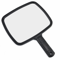 H-SA-MIR-UNB-001 Hand Mirror - Large Black
