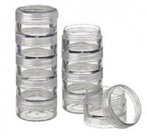 N-BE-CNT-MOC-005 Stackable Jar with Lid - Clear 7.5ml