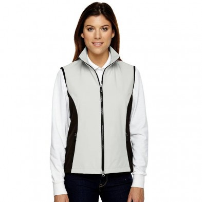 Ash City North End Ladies' 3-Layer Light Bonded Performance Soft Shell Vest