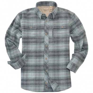 Backpacker Albacore Stretch Flannel Long Sleeve Shirt