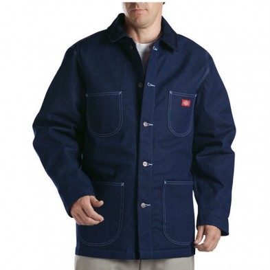 Dickies Denim Blanket Lined Chore Coat