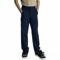 Dickies Boy's Classic Straight Fit Flexwaist Flat Front Pant