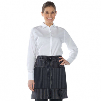 Edwards Half Bistro Two Pocket Waist Apron