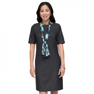 Edwards Ladies' Synergy Washable Jewel Neck Dress