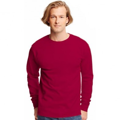 Hanes Tagless 6.0 oz. Long Sleeve T-Shirt