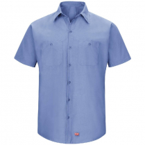 Red Kap Men's Short Sleeve Mimix Workshirt
