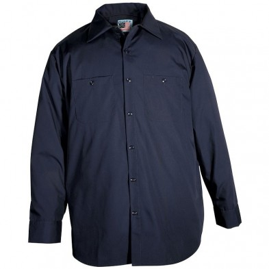 Snap 'n' Wear Long Sleeve Work Shirt - Imported