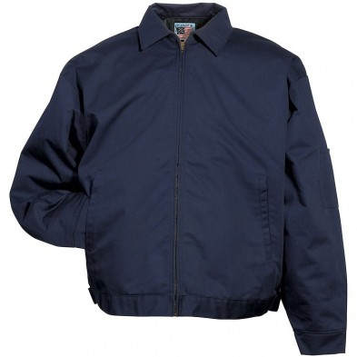 Snap 'n' Wear Twill Jacket with Adjustable Waistband - Imported