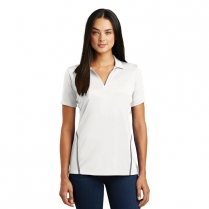 Sport-Tek® Ladies' Contrast PosiCharge® Tough Polo