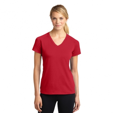 Sport-Tek® Ladies' Ultimate Performance V-Neck