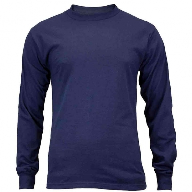 Union Line 5.4 oz. Long Sleeve Tee Shirt No Pocket