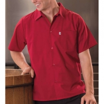Uncommon Threads Classic 5 Button Utility Shirt with Pocket