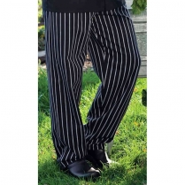 Uncommon Threads Traditional Chef Pant with 2-inch Elastic Waist