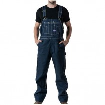 Big Smith Rigid Indigo Denim Bib Overall