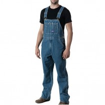 Big Smith Stonewashed Denim Bib Overall