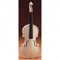 2627 WHITE VIOLIN 4/4, NICE FLAME, GUARNERIUS