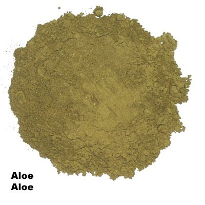 27316 ALOE, YELLOW TO YELLOW-BROWN, 100 GR.