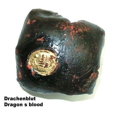 27317 DRAGON'S BLOOD, LUMPS, 100 GR.
