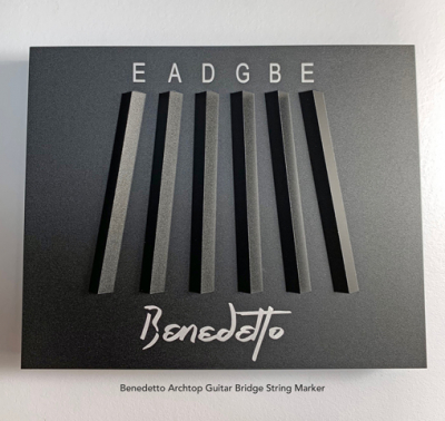 28050 BENEDETTO ARCHTOP GUITAR BRIDGE STRING MARKER