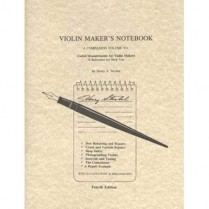 3313 VIOLIN MAKER'S NOTEBOOK