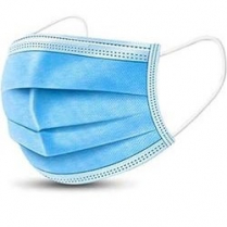 Non-Woven 3 Layer Disposable Face Mask Blue