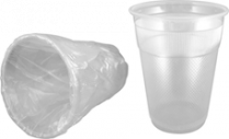 HSKPGPG9 Plastic Glass 9oz Plain 9 oz