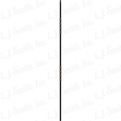 LIH-HOL2TW44-ABZ 1/2X44 HOLLOW DOUBLE TWIST