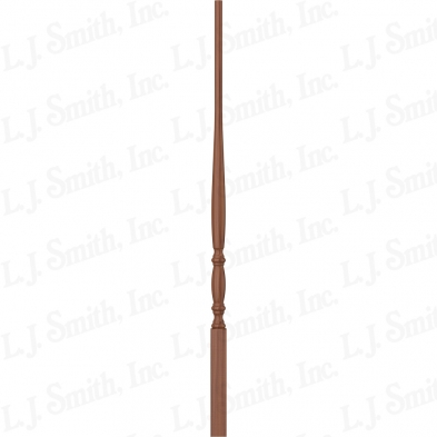 LJ-2011-C 34 1 1/4 DOWEL TOP URN TAPER