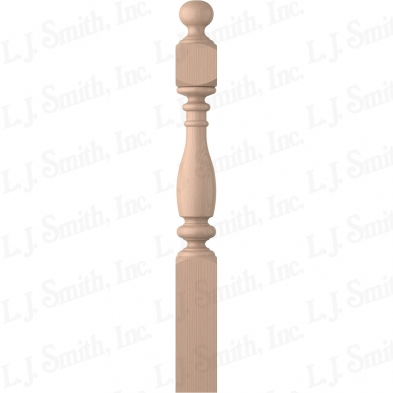 LJ-4V40-5.0-M 5X48 SHORTEST UTILITY NEWEL