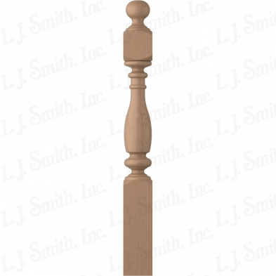 LJ-4V40-5.0-P 5X48 SHORTEST UTILITY NEWEL