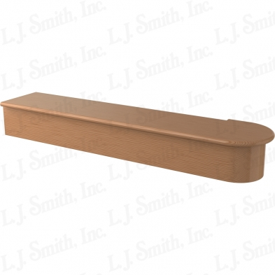 LJ-8010-AL 48 SINGLE BULLNOSE STARTING STEP
