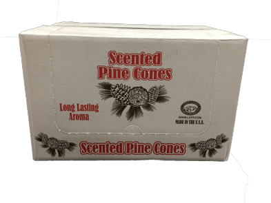 212-MSC-915 Pumpkin Scented Pine Cones, 20/Case