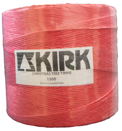 225-TWN-15R Twine-1500'/lb, 8 rls/cs - RED
