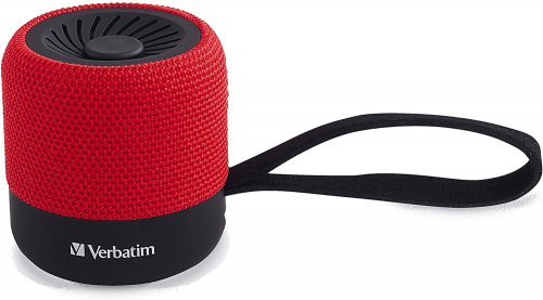 BLUETOOTH SPEAKER 70230 RED VERBATIM MINI WIRELESS