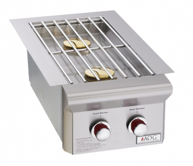 "AOG3282T BUILT-IN DOUBLE SIDE BURNER (""T"" SERIES)"