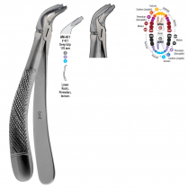 AM-451 BMT GD - Deep gripping extraction forcep