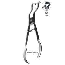 DF-12 BMT GD - Clamp forcep ivory, 17cm